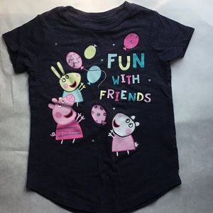 ❤️5 FOR $25  | Toddler Girl Peppa Pig Tee